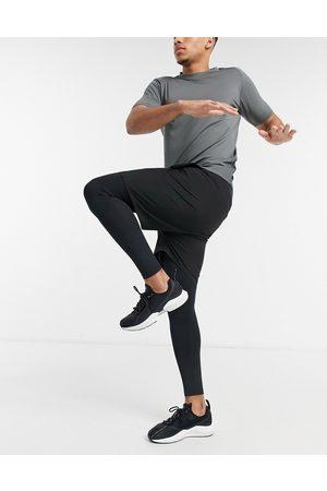 ASOS 4505 2-in-1 shorts and tights-Black
