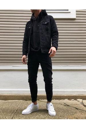 ASOS Stretch slim jeans in black
