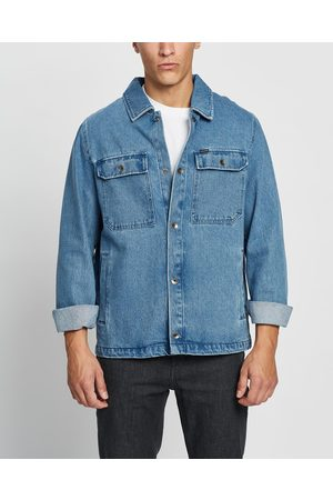Volcom Men Denim Jackets - Likeaton Jacket - Denim jacket (Denim) Likeaton Jacket