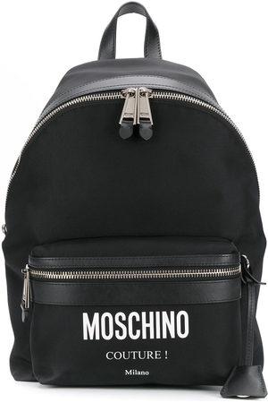 Moschino Men Backpacks - Printed logo backpack