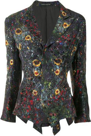 YOHJI YAMAMOTO Floral print blazer