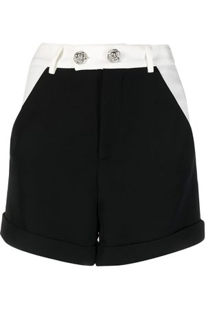 Philipp Plein Cady two-tone short shorts