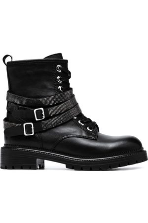 Carvela Women Lace-up Boots - Lace-up leather boots