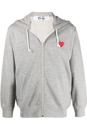 Comme des Garçons Logo-patch hoodie