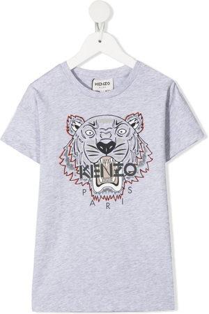 Kenzo Boys Short Sleeve - Tiger T-shirt