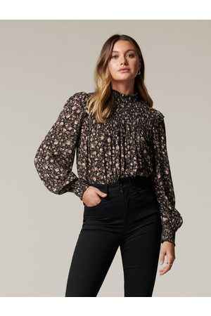 Forever New Women Blouses - Phoebe Shirred Yoke Blouse