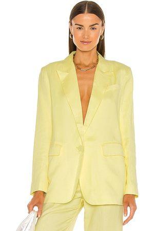 Bardot Summer Linen Blazer in .