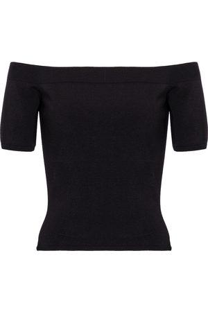 Alexander McQueen Women Strapless Tops - Off-shoulder top
