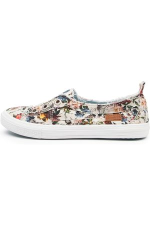 BLOWFISH Women Casual Shoes - Aussie Bw Cream Vintage Petal Sneakers Womens Shoes Casual Casual Sneakers