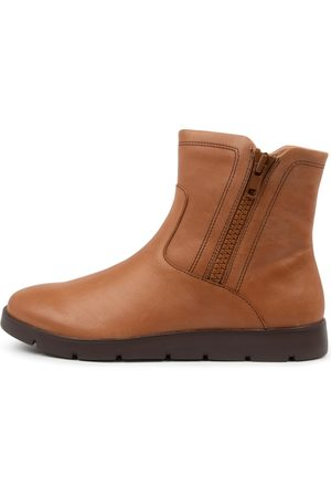 Ziera Women Ankle Boots - Myrtle W Zr Tan Boots Womens Shoes Casual Ankle Boots