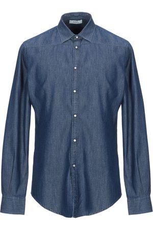 ALPHA STUDIO Denim shirts