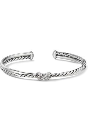 David Yurman Women Bracelets - X diamond bracelet