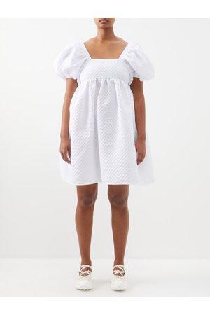 Cecilie Bahnsen Edition Tilde Puff-sleeved Cloqué Dress - Womens