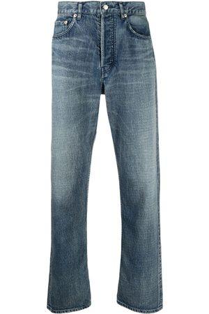 AMBUSH Men Straight - Distressed straight-leg jeans