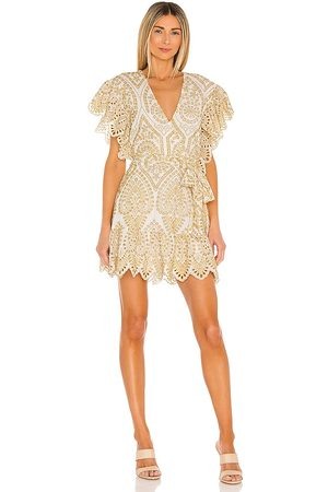 Minkpink Whilma Wrap Mini Dress in .