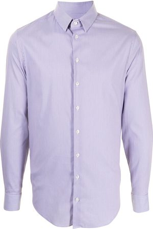 Armani Men Casual - Stripe print cotton shirt