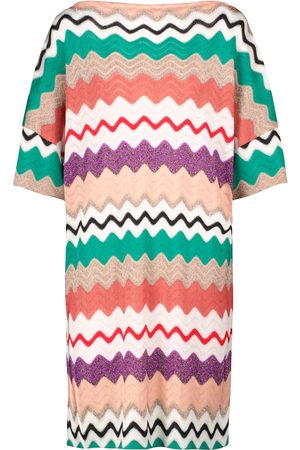 Missoni Women Mini Dresses - Zig-zag stretch-silk minidress