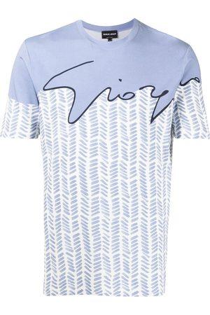 Armani Logo-print short-sleeved T-shirt