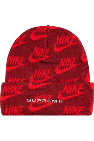 Supreme Beanies - X Nike jacquard logos beanie