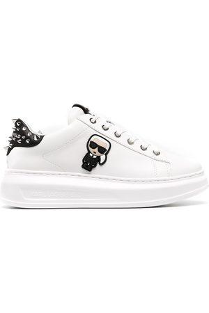 Karl Lagerfeld Women Sneakers - Kapri K/Ikonik patch chunky sneakers