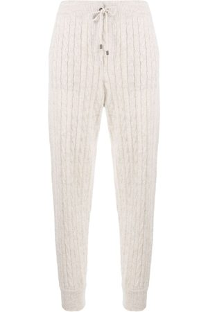 Brunello Cucinelli Tapered knitted trousers