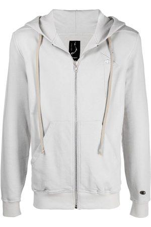 Rick Owens Drawstring-hood jacket