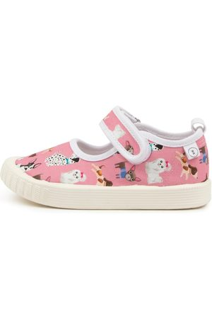 WALNUT Girls Casual Shoes - Classic Mj Pamper Pups Shoes Girls Shoes Casual Flat Shoes