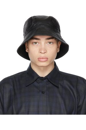 Men Hats - Liberal Youth Ministry Leather Bucket Hat