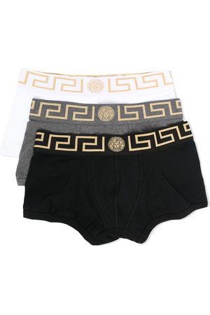 Versace Men Boxer Shorts - Greca-border boxer tri-pack
