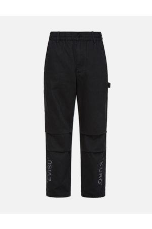 Evisu Men Pants - Ukiyo-E Infused Logo Embroidered Worker Pants