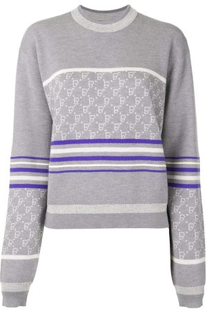 BAPY BY *A BATHING APE® Intarsia knit striped jumper