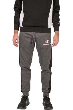 Champion Men Joggers - Panel Mens Track Pants - /Granite