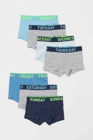 H&M Boys Briefs - 7-pack Boxer Briefs - Turquoise