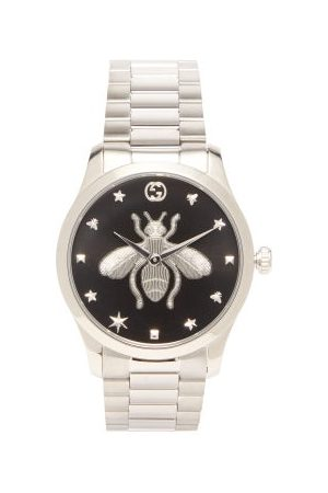 Gucci G-timeless Stainless-steel Watch - Mens