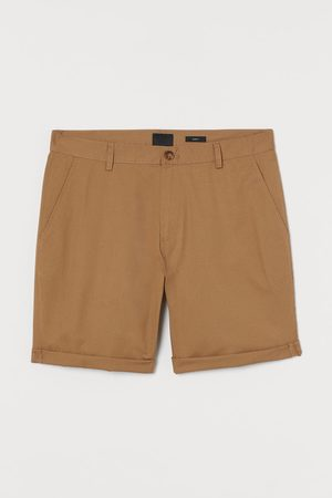 H&M Men Shorts - Slim Fit Cotton Shorts