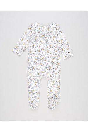 Bebe By Minihaha Mae Organic LS Romper Babies - Longsleeve Rompers (Mustard) Mae Organic LS Romper - Babies
