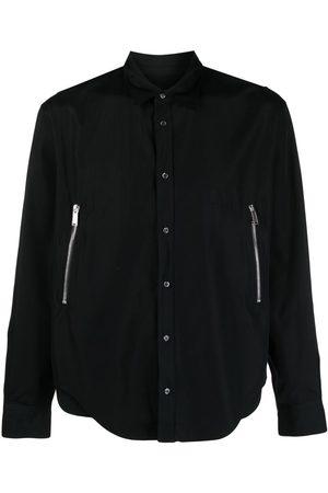 Dsquared2 Zip-detail cotton shirt