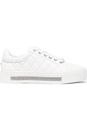 Carvela Jeo quilted embellished sneakers
