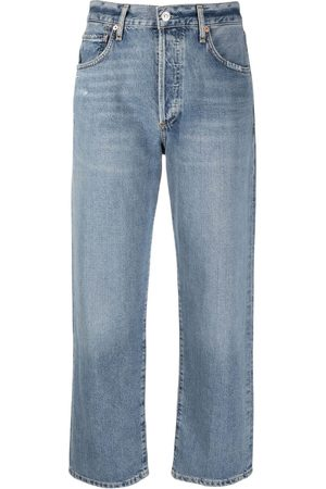 Citizens of Humanity Mid-rise cropped jeans