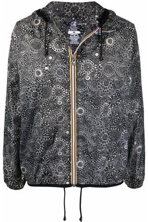 10 CORSO COMO X K-Way circle print raincoat