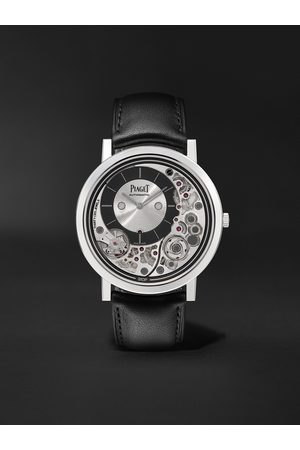 PIAGET Men Watches - Altiplano Ultimate Automatic 41mm 18-Karat White Gold and Leather Watch, Ref. No. G0B43121