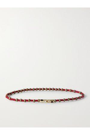 LUIS MORAIS Men Bracelets - Bead and 14-Karat Gold Bracelet