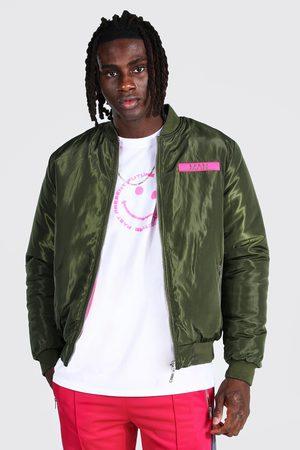 Boohoo Mens Multi Official Man Reversible Ma1 Bomber Jacket
