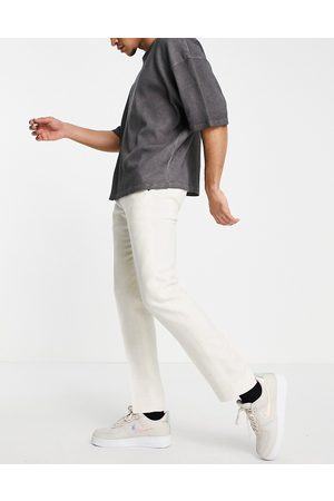 Twisted Tailor Linen suit pants in stone white-Neutral