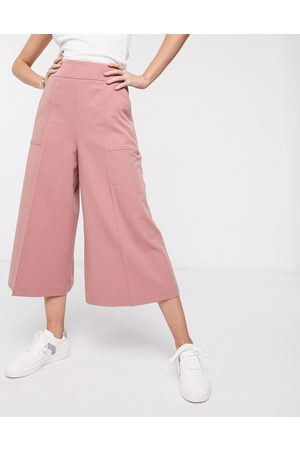 ASOS Tailored clean culottes-Pink