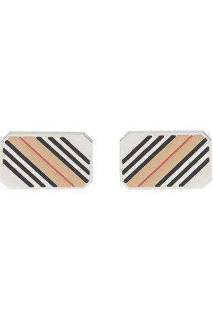 Burberry Men Cufflinks - Icon stripe cufflinks