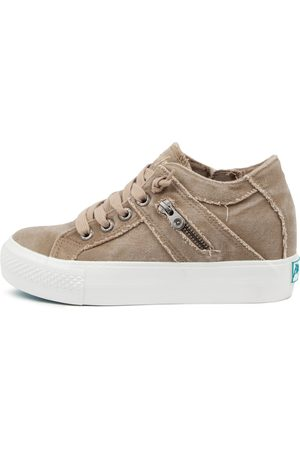 BLOWFISH Women Casual Shoes - Melondrop Bw Taupe Sneakers Womens Shoes Casual Casual Sneakers
