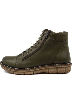 Colorado Denim Women Ankle Boots - Asarah Cf Olive Boots Womens Shoes Casual Ankle Boots