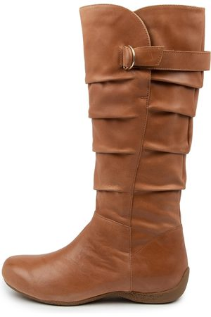 Ziera Women Knee High Boots - Xaider W Zr Tan Boots Womens Shoes Casual Long Boots