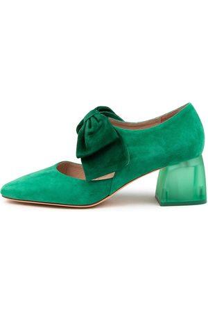 DJANGO & JULIETTE Women Shoes - Misha Dj Forest Emerald Shoes Womens Shoes Party Heeled Shoes
